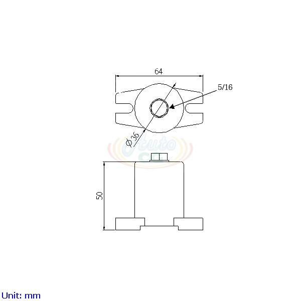 獨立端子電木座 CB8-T40-C3