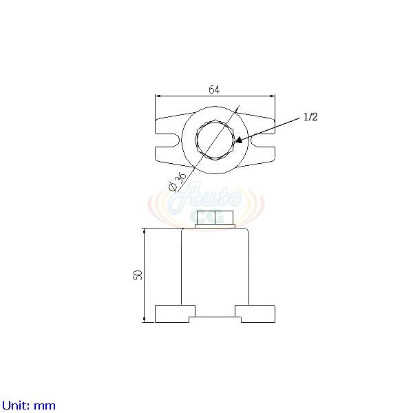 獨立端子電木座 CB8-T40-C4