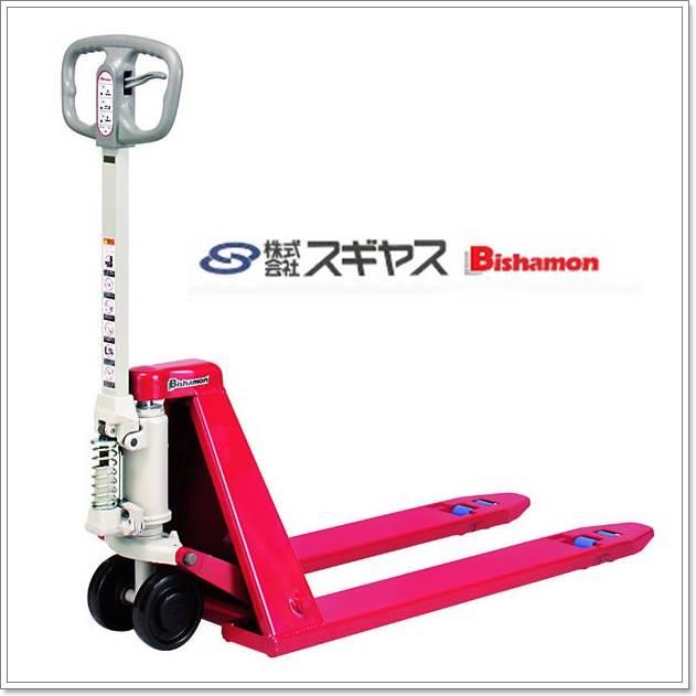 Bishamon手拉油壓拖板車  (手拉托板車、手拉板車、油壓拖板車、油壓托板車、油壓板車)