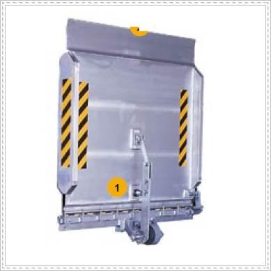小型斜坡板,簡易斜坡板、橋板、卸貨平台、手動調整板
