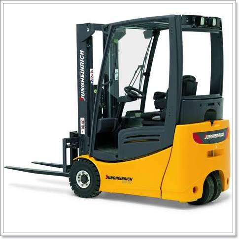 EFG 213/215/216k/216/218k/218/220  Electric three-wheel truck (1.300 / 1.500 / 1.600 / 1.800 / 2.000 kg)