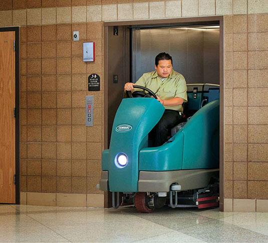 S10倉庫掃地機,tennant S10,工業掃地機,電瓶掃地機,手推掃地機,工業用掃地機,大型掃地機