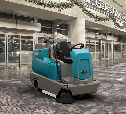 tennant S10,工業掃地機,電瓶掃地機,手推掃地機,工業用掃地機,大型掃地機