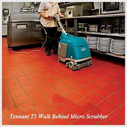 T1 Tennant洗地機,小型洗地機 手推洗地機 電動拖地機