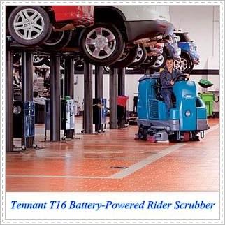 T16工業洗地機,駕駛洗地機,TENNANT T16洗地機,自動洗地機,賣場洗地機,拖地機,刷地機