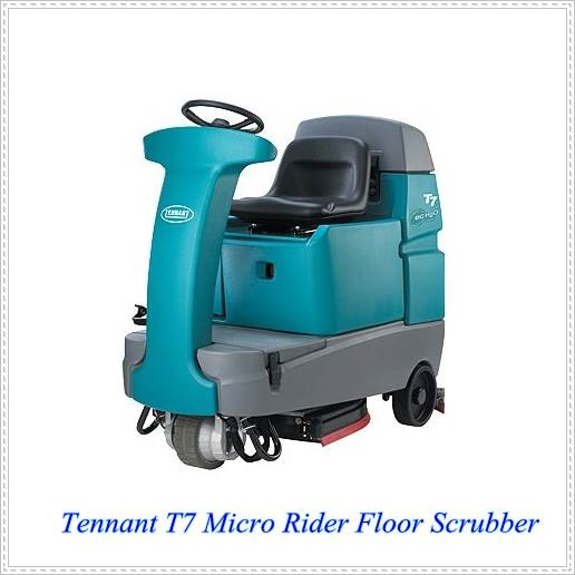 Tennant T7駕駛洗地車,小型洗地機,倉庫洗地機,賣場洗地機